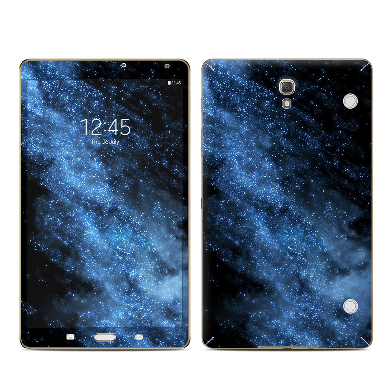 Samsung Galaxy Tab S 8.4 Skin design of Sky, Atmosphere, Black, Blue, Outer space, Atmospheric phenomenon, Astronomical object, Darkness, Universe, Space with black, blue colors