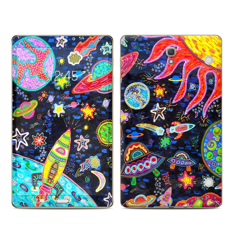 Out to Space Galaxy Tab S 8.4 Skin