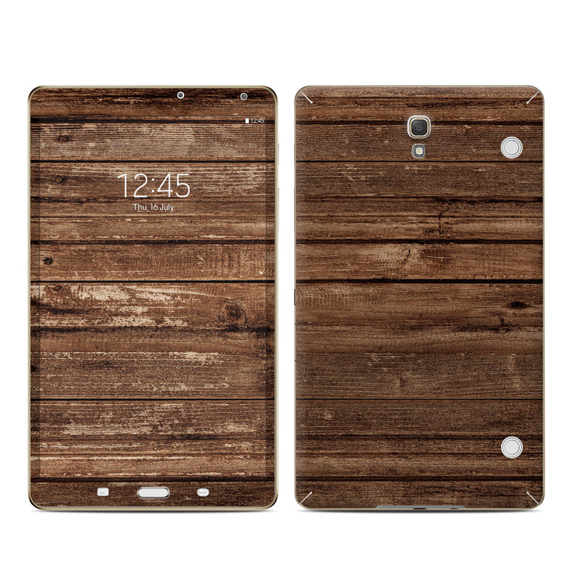Stripped Wood Galaxy Tab S 8.4 Skin