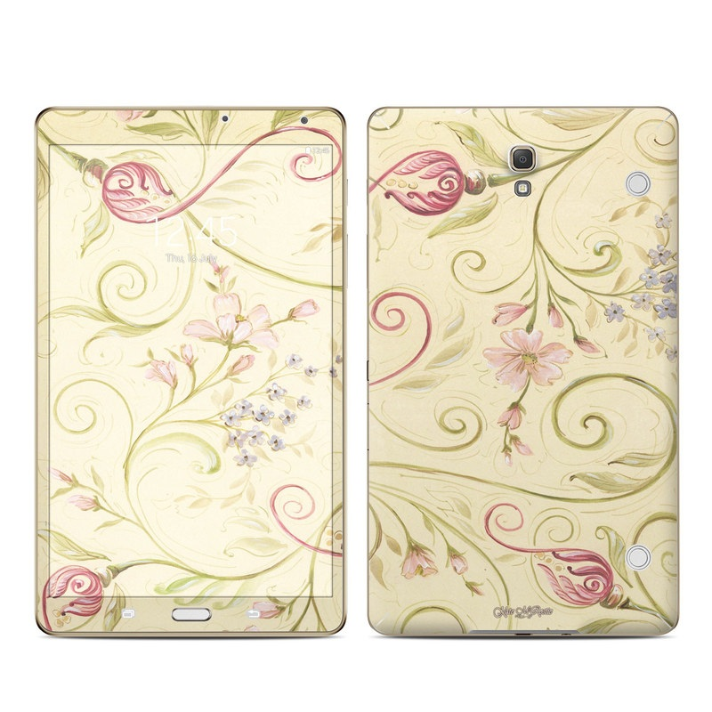 Tulip Scroll Galaxy Tab S 8.4 Skin