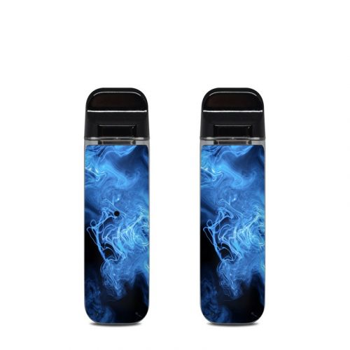 Blue Quantum Waves SMOK Novo Skin