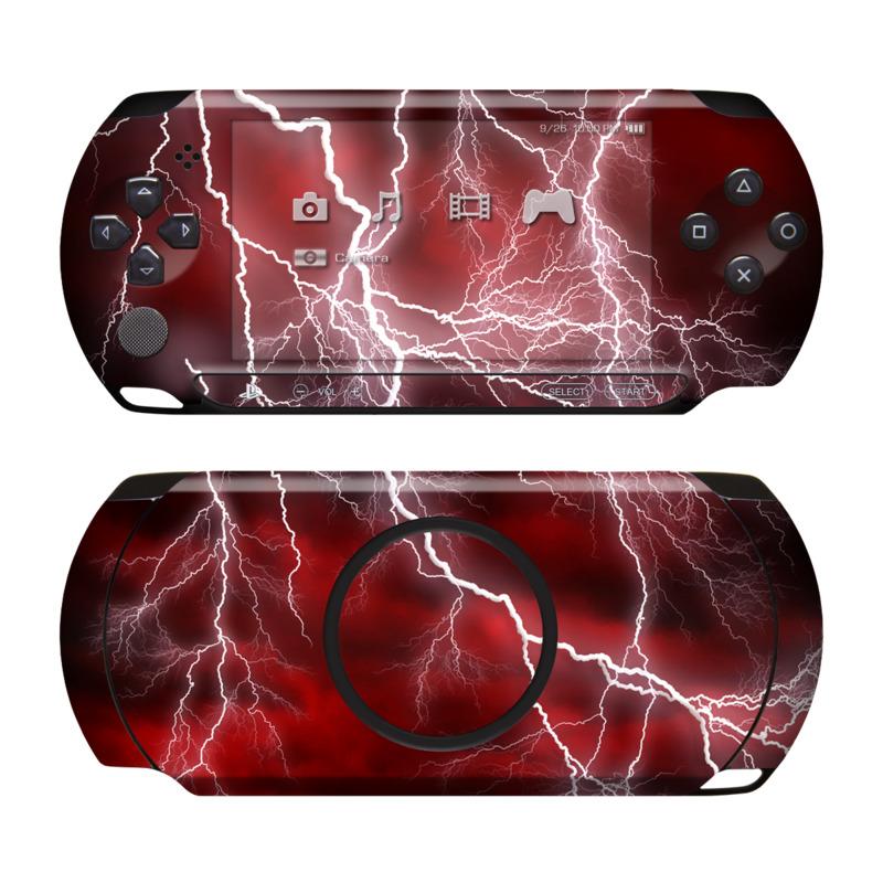 Apocalypse Red PSP Street Skin