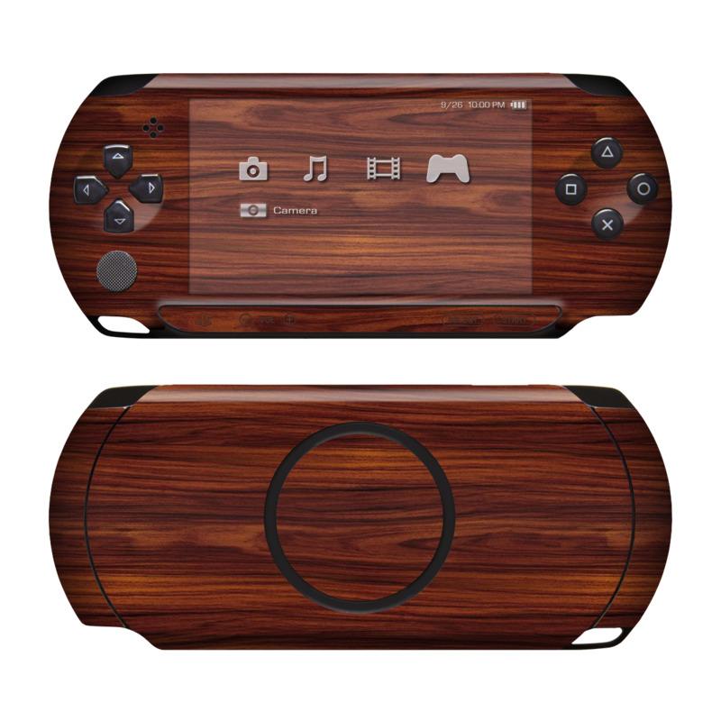 Dark Rosewood PSP Street Skin