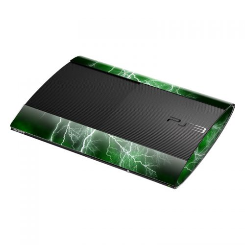 Apocalypse Green PlayStation 3 Super Slim Skin
