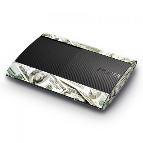 Benjamins PlayStation 3 Super Slim Skin