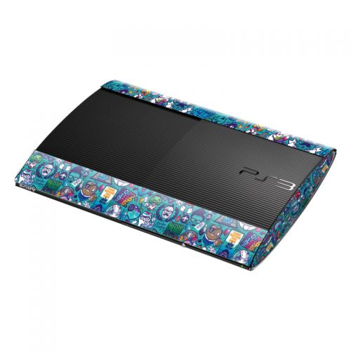 Cosmic Ray PlayStation 3 Super Slim Skin