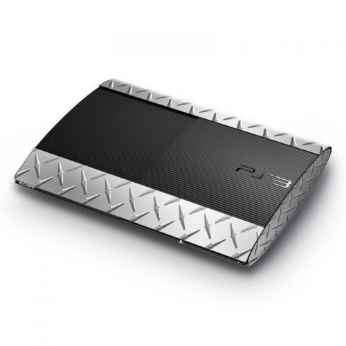 Diamond Plate Sony PlayStation 3 Super Slim Skin