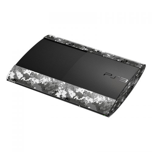 Digital Urban Camo PlayStation 3 Super Slim Skin