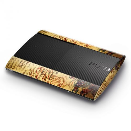 Dragon Legend Sony PlayStation 3 Super Slim Skin