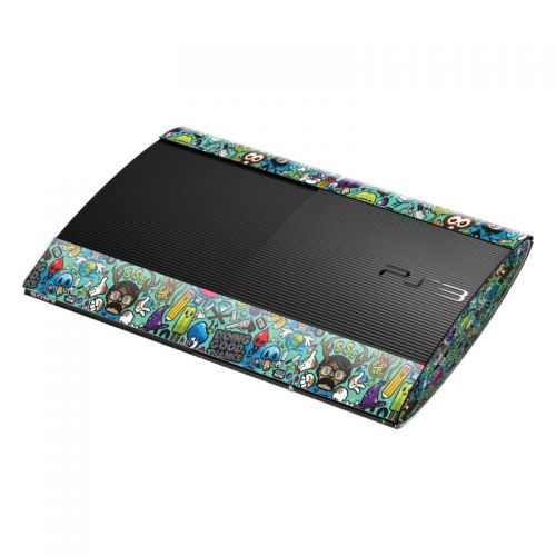 Jewel Thief PlayStation 3 Super Slim Skin