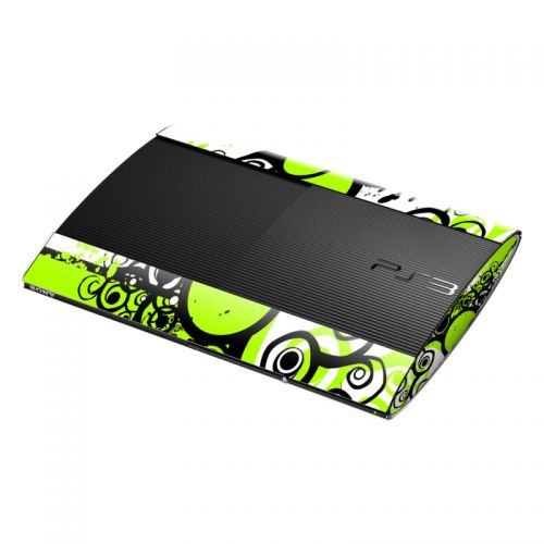 Simply Green PlayStation 3 Super Slim Skin