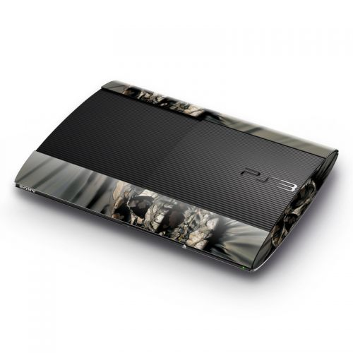 Skull Wrap Sony PlayStation 3 Super Slim Skin