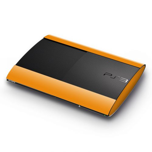 Solid State Orange PlayStation 3 Super Slim Skin