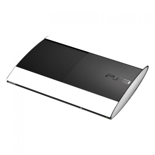 Solid State White PlayStation 3 Super Slim Skin