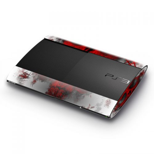 War Light Sony PlayStation 3 Super Slim Skin