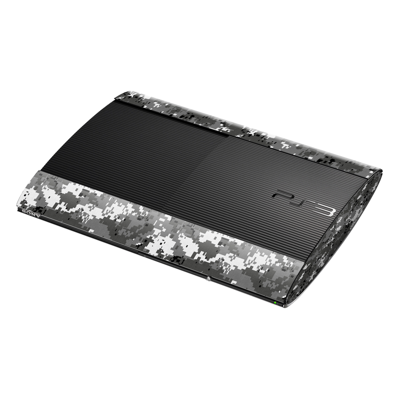 Digital Urban Camo PlayStation 3 Super Slim Skin | iStyles