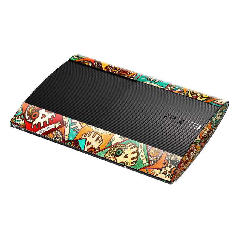 Loteria Scatter PlayStation 3 Super Slim Skin