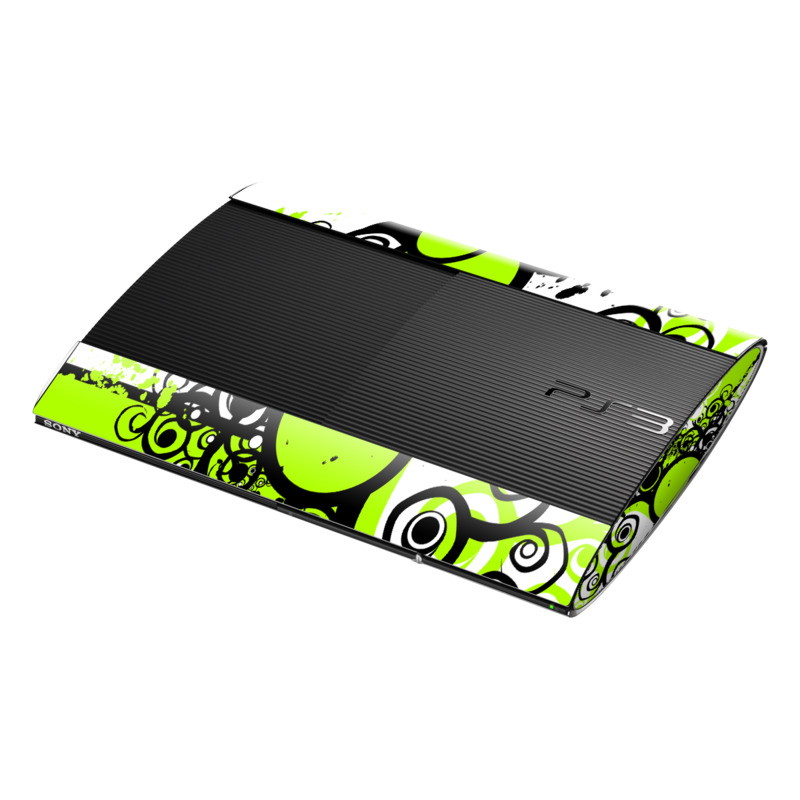 Simply Green PlayStation 3 Super Slim Skin | iStyles
