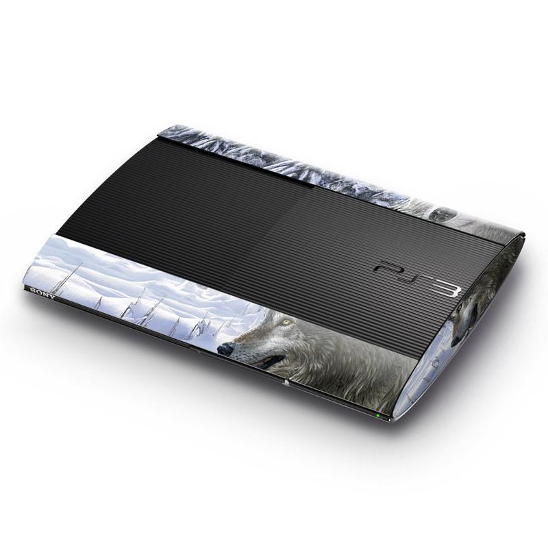 Snow Wolves PlayStation 3 Super Slim Skin