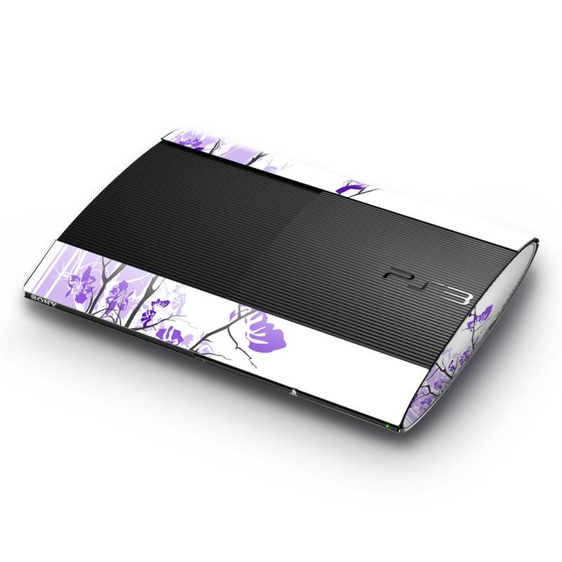 Violet Tranquility PlayStation 3 Super Slim Skin