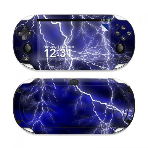 Apocalypse Blue Sony PS Vita Skin