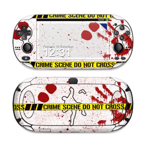 Crime Scene Revisited PS Vita Skin