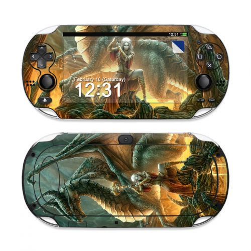 Dragon Mage Sony PS Vita Skin