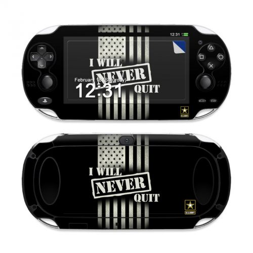 Never Quit Sony PS Vita Skin