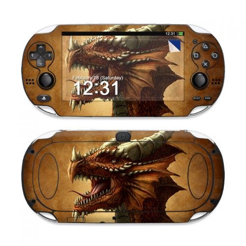 Red Dragon Sony PS Vita Skin