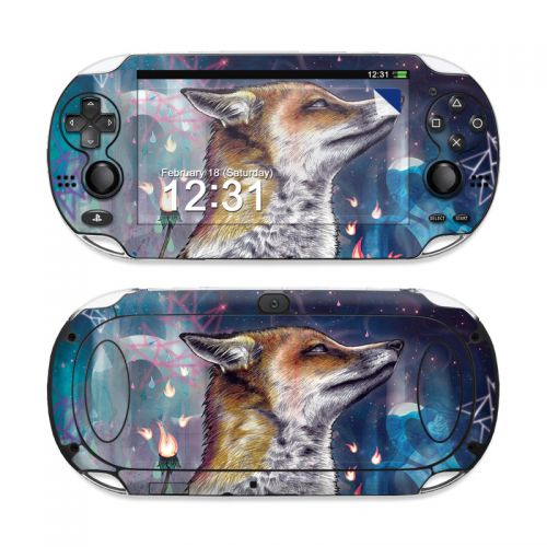There is a Light Sony PS Vita Skin