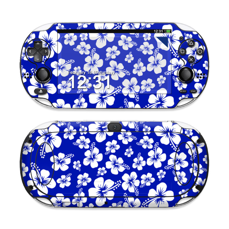 Aloha Blue Sony PS Vita Skin