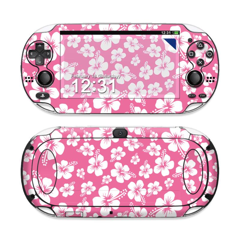 Aloha Pink Sony PS Vita Skin
