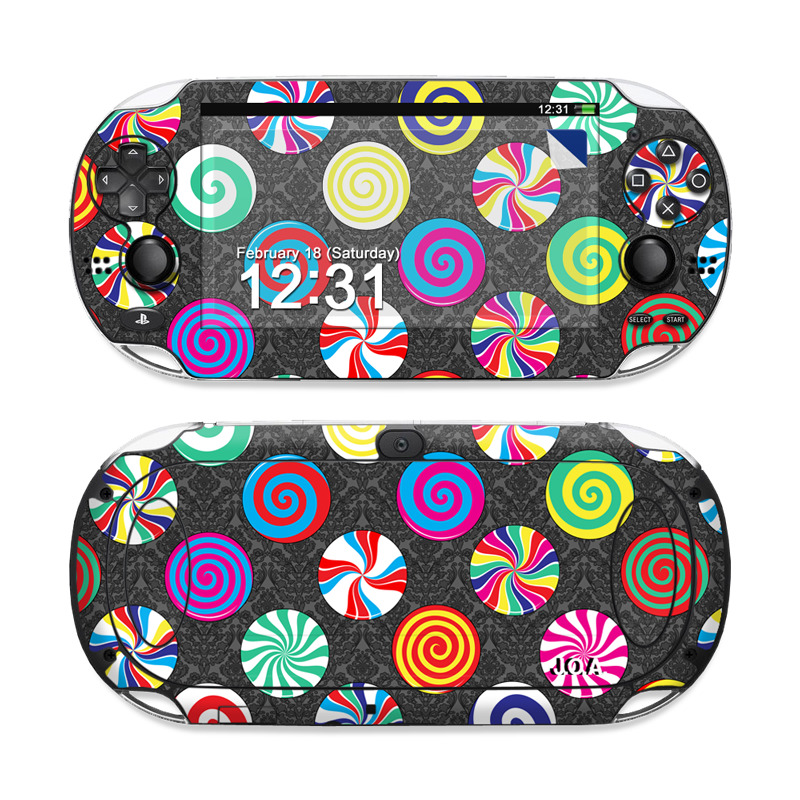 Baroque Candies Sony PS Vita Skin