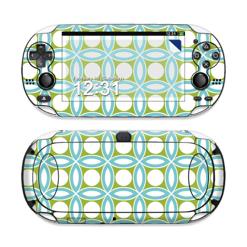 Blue Geo Sony PS Vita Skin