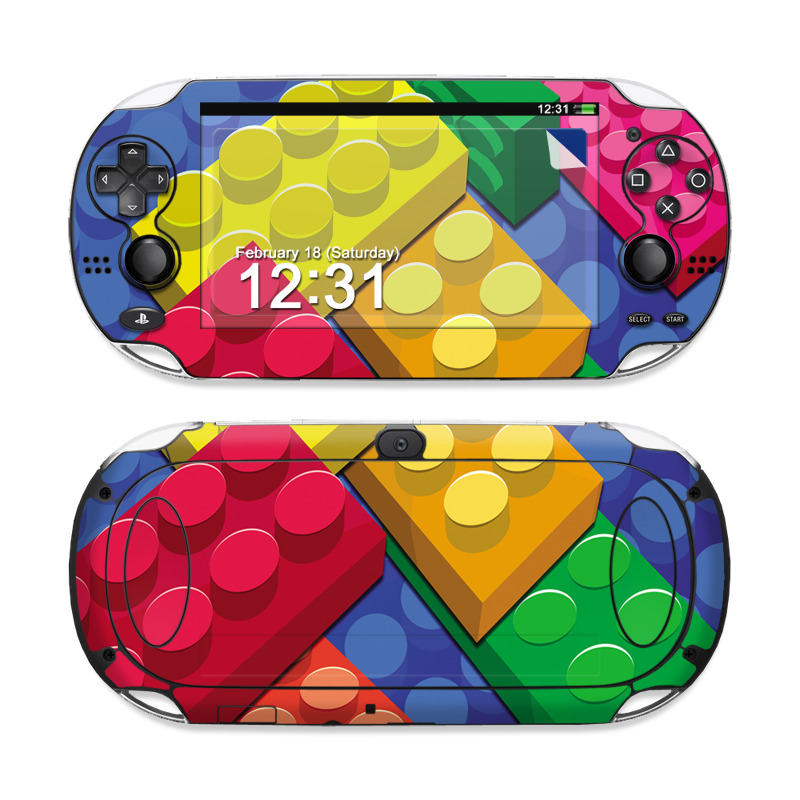 Bricks PS Vita Skin