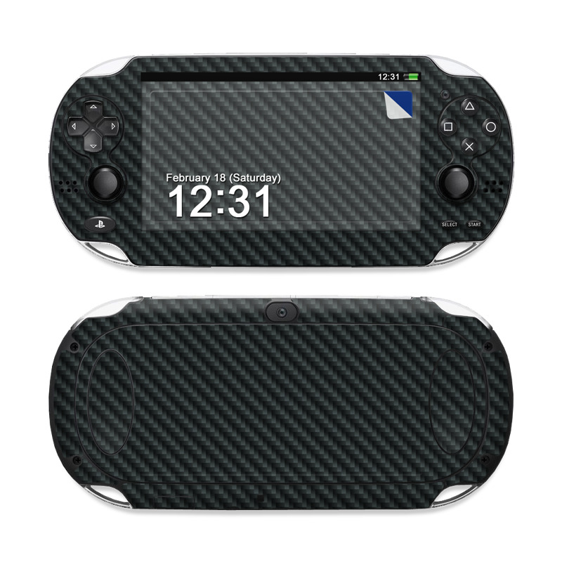Carbon Fiber PS Vita Skin