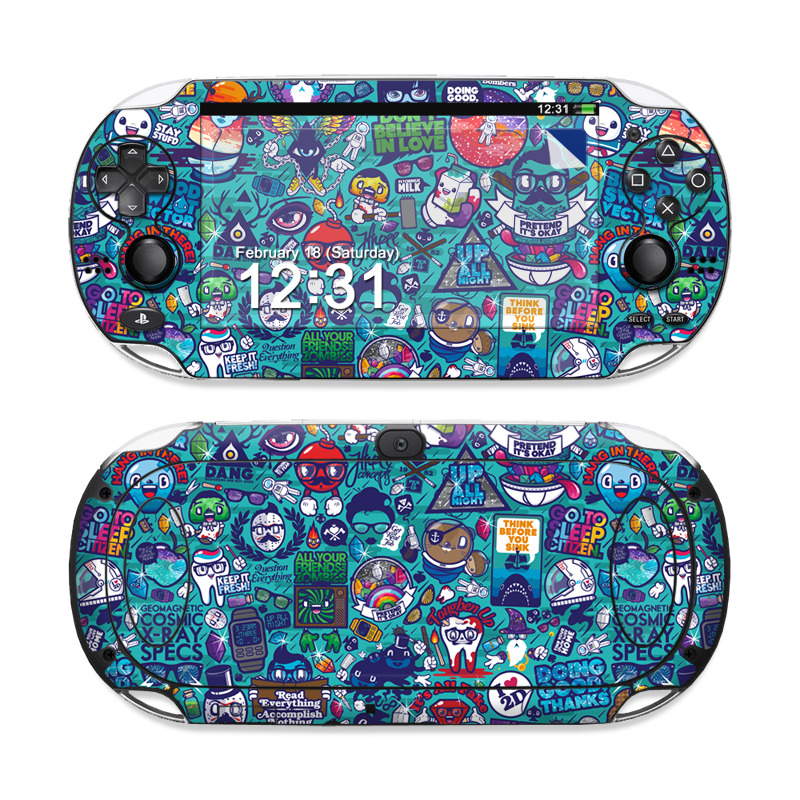 Cosmic Ray Sony PS Vita Skin