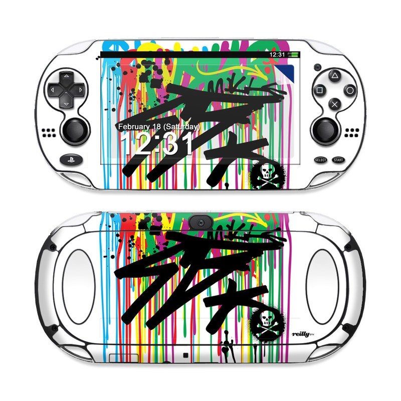 Colour Rain PS Vita Skin