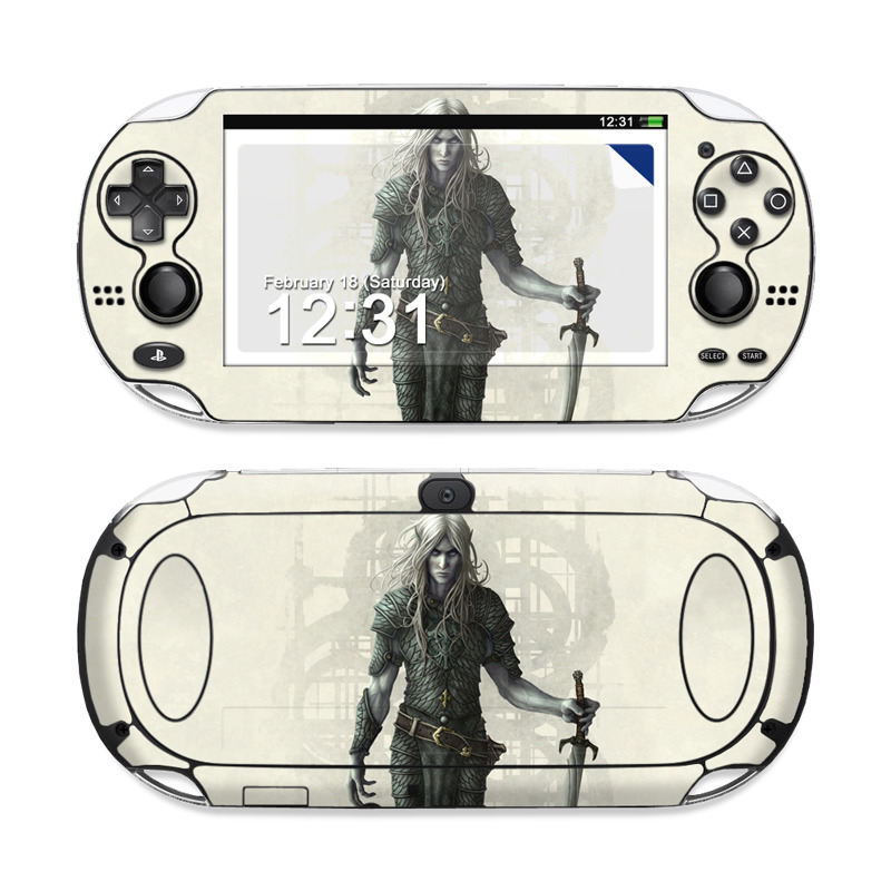 Dark Elf Sony PS Vita Skin