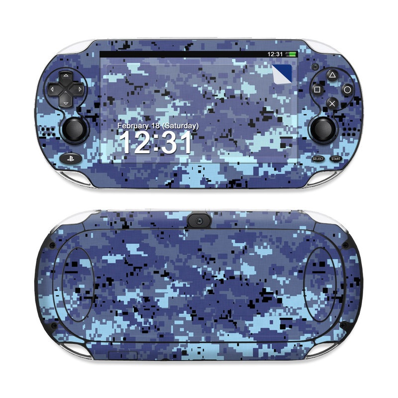 Digital Sky Camo PS Vita Skin