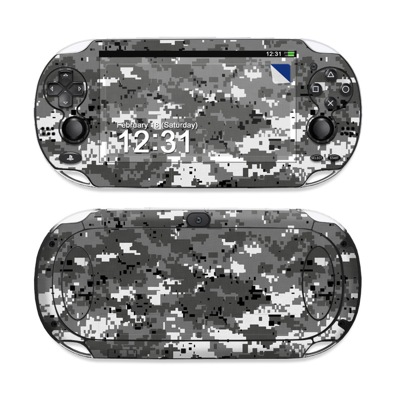 Digital Urban Camo PS Vita Skin