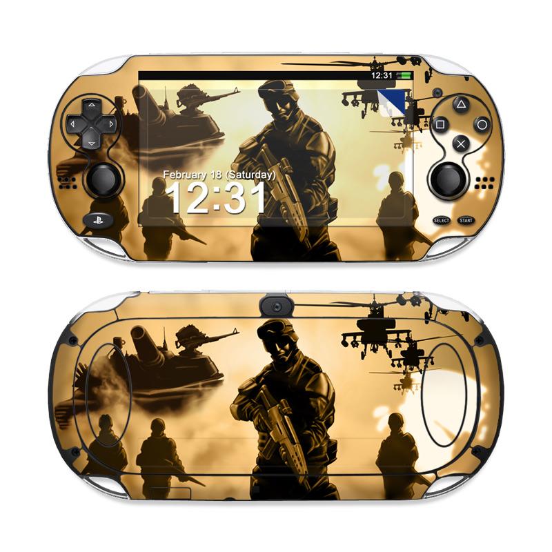Desert Ops Sony PS Vita Skin