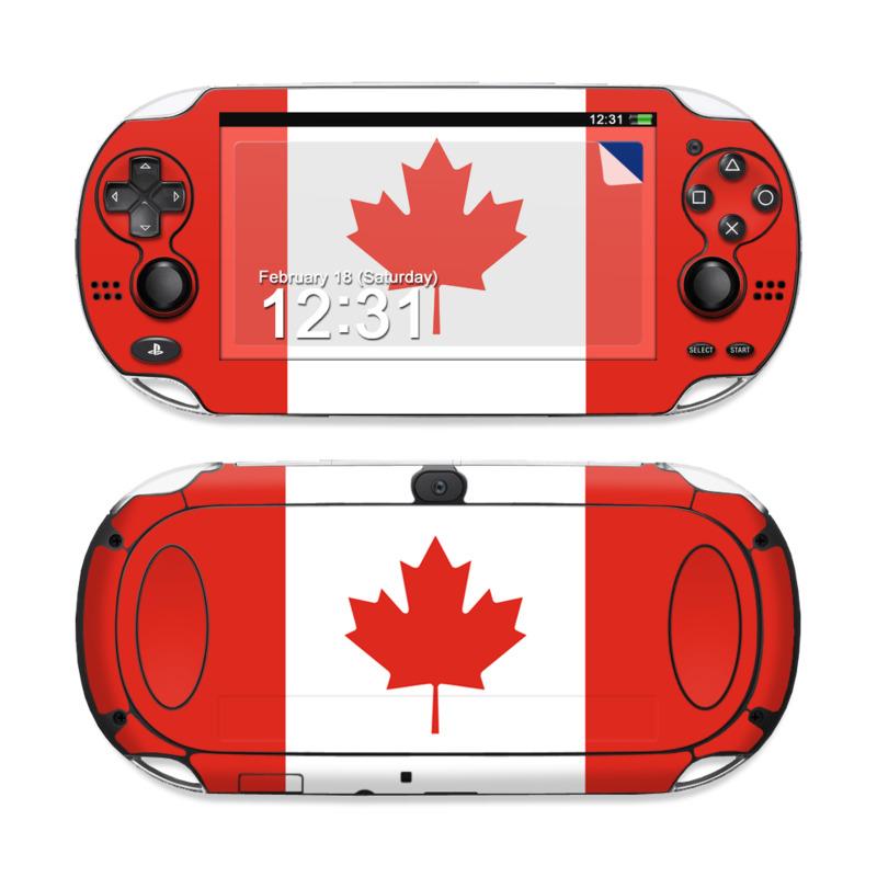 Canadian Flag PS Vita Skin