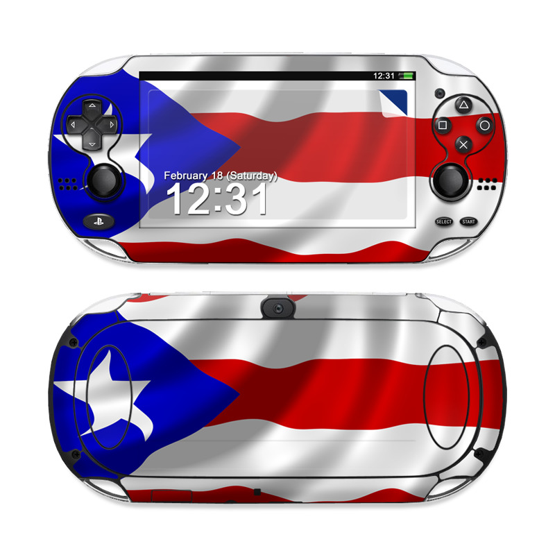 Puerto Rican Flag PS Vita Skin