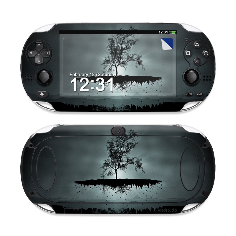 Flying Tree Black PS Vita Skin