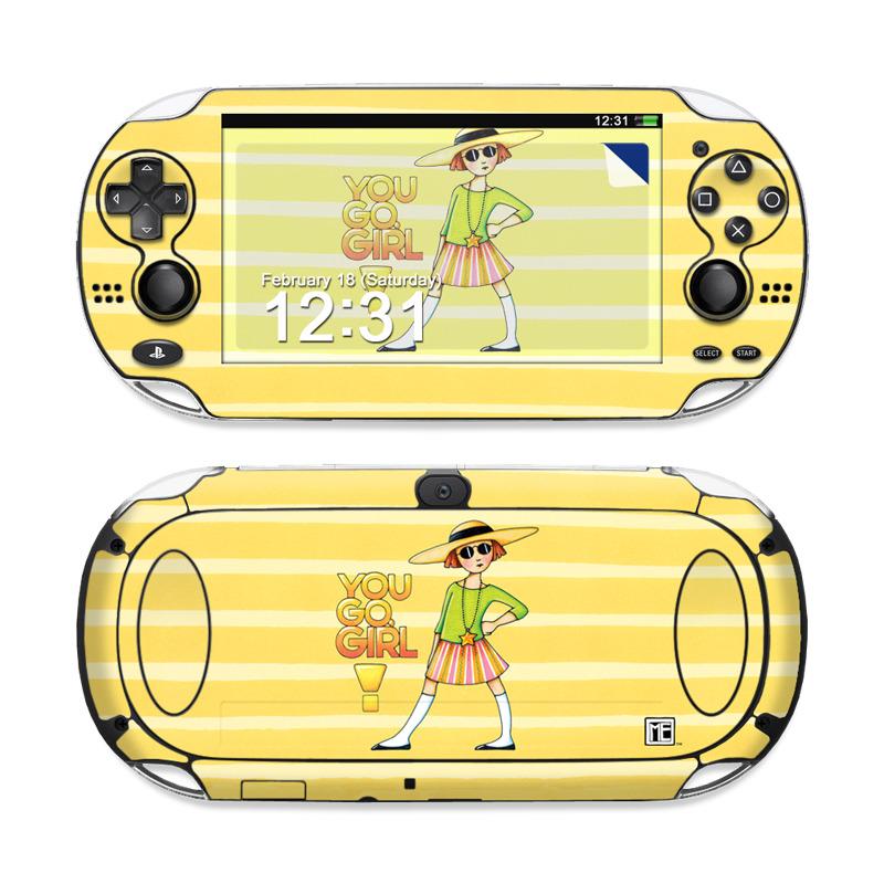 You Go Girl PS Vita Skin