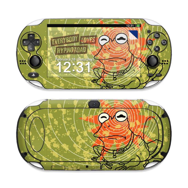 Hypnotoad Sony PS Vita Skin
