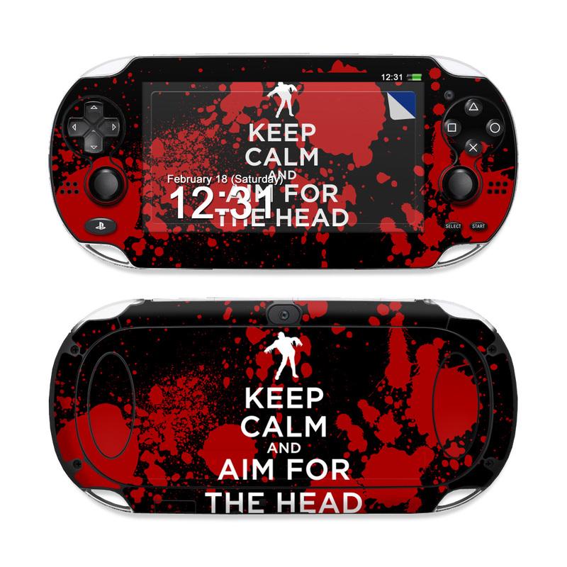 Keep Calm - Zombie PS Vita Skin
