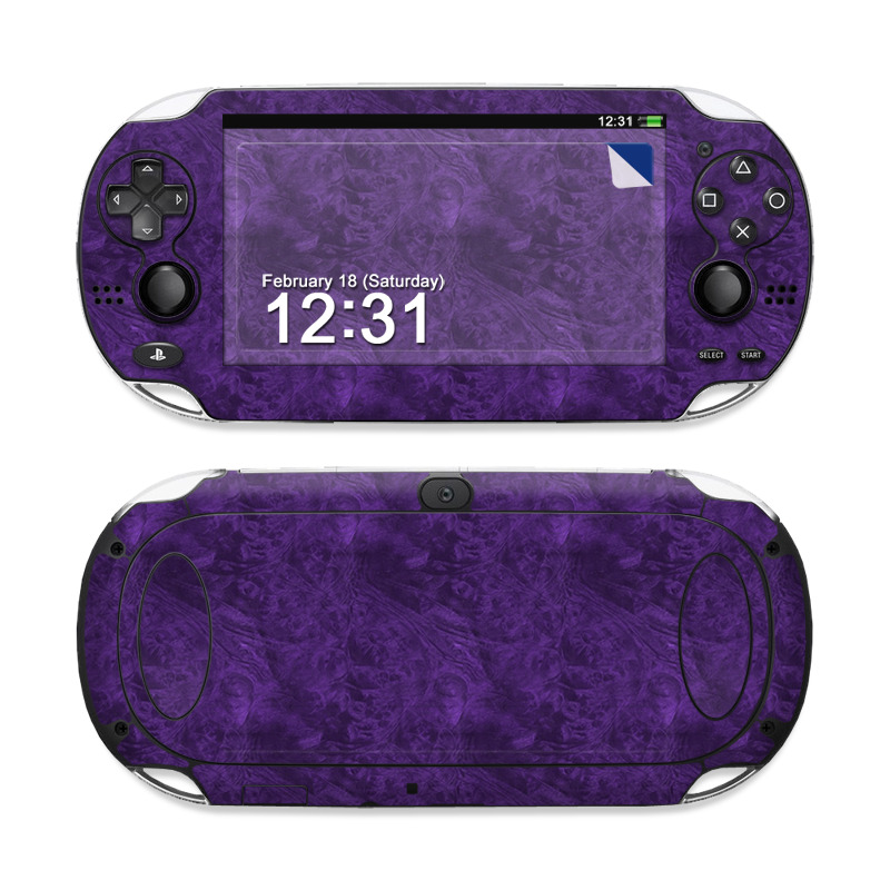 Purple Lacquer Sony PS Vita Skin