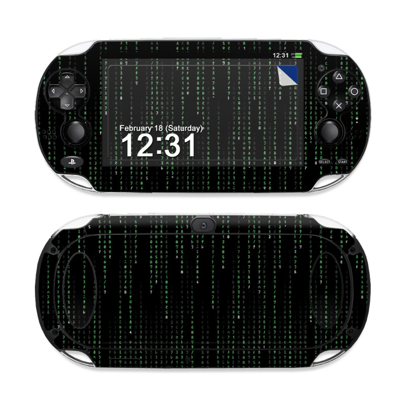 Matrix Style Code PS Vita Skin